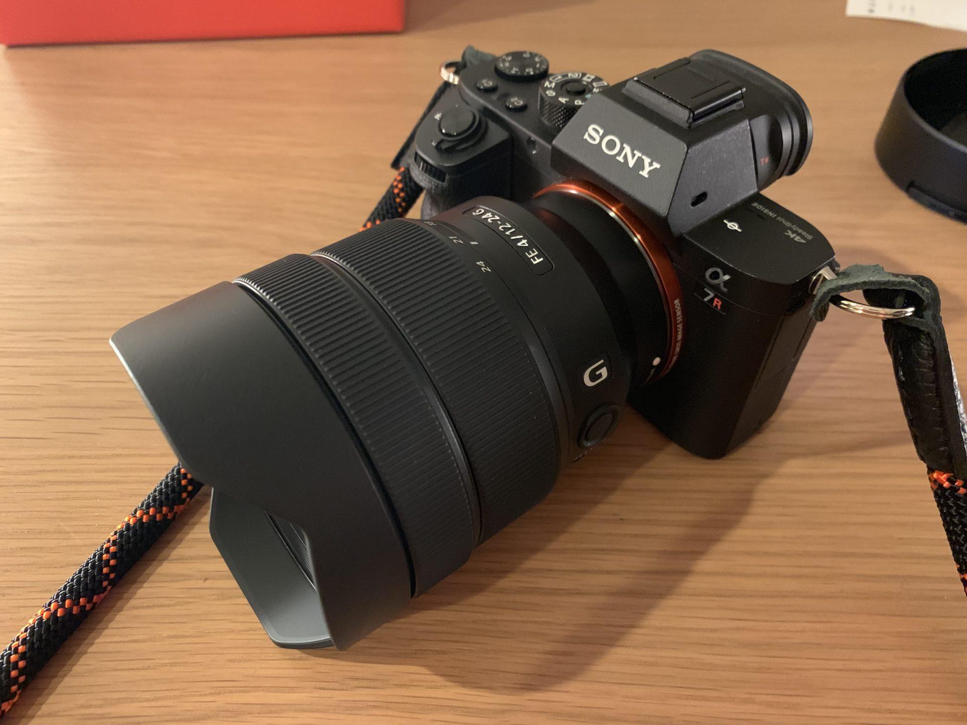 SEL1224G SONY αシリーズ超広角レンズ
