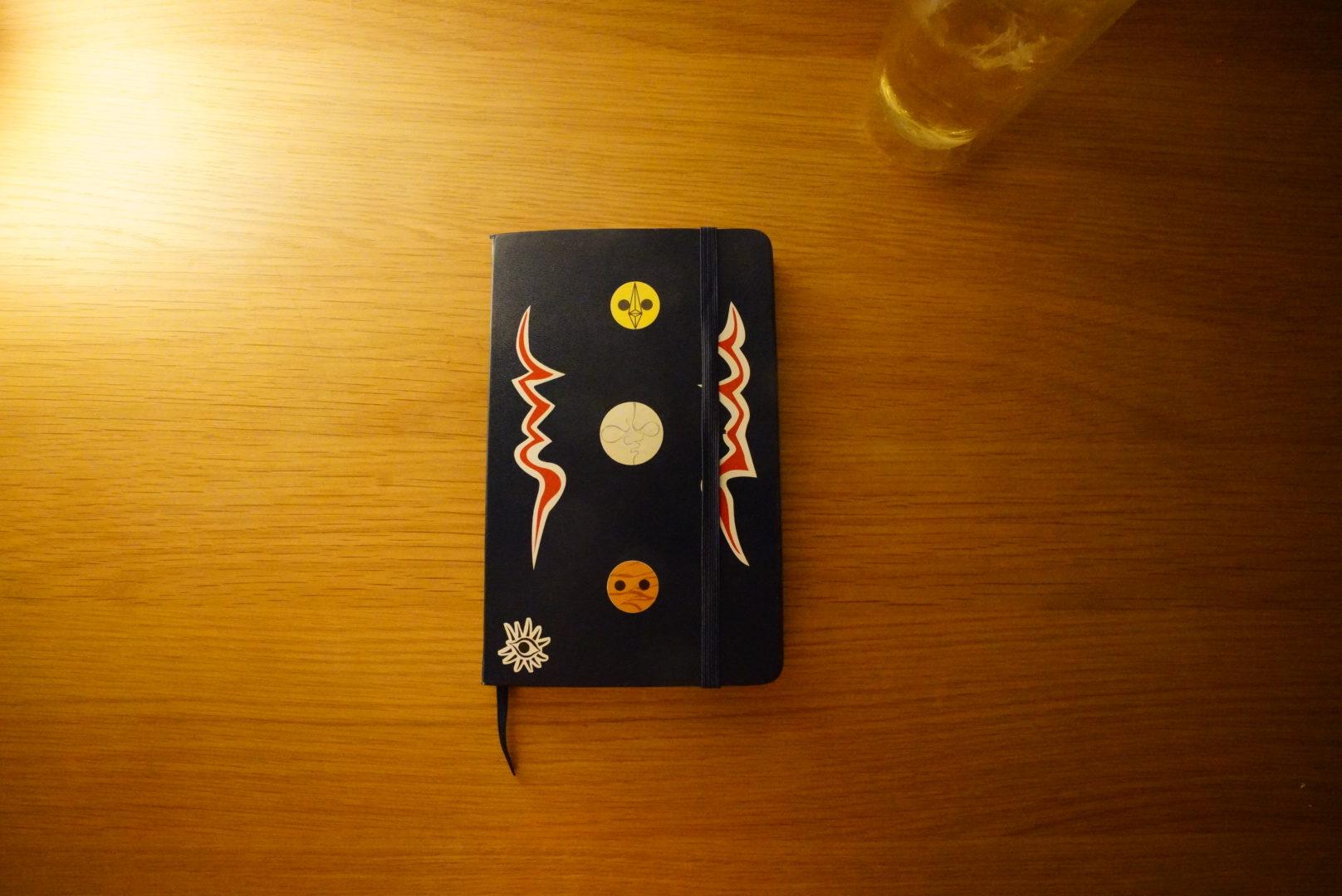 ガシガシ使い込むアンティークなノート『モレスキン』